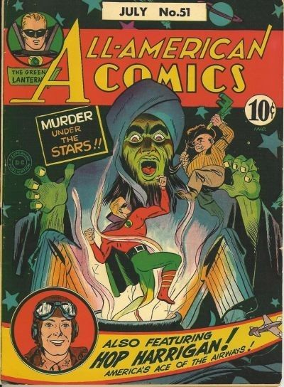 Cover for All-American Comics (DC, 1939 series) #51