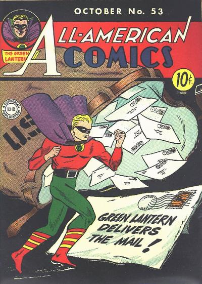 Cover for All-American Comics (DC, 1939 series) #53