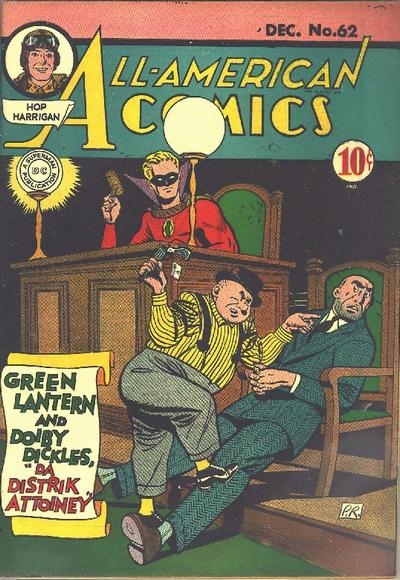 Cover for All-American Comics (DC, 1939 series) #62
