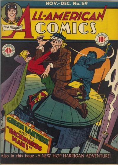 Cover for All-American Comics (DC, 1939 series) #69