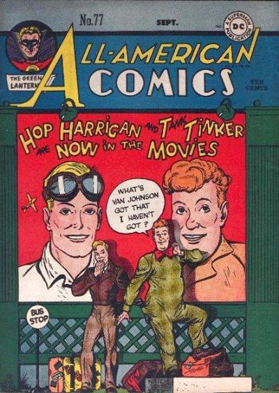 Cover for All-American Comics (DC, 1939 series) #77