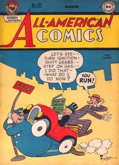 Cover for All-American Comics (1939 series) #83