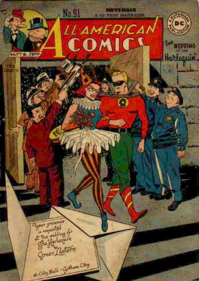 Cover for All-American Comics (DC, 1939 series) #91