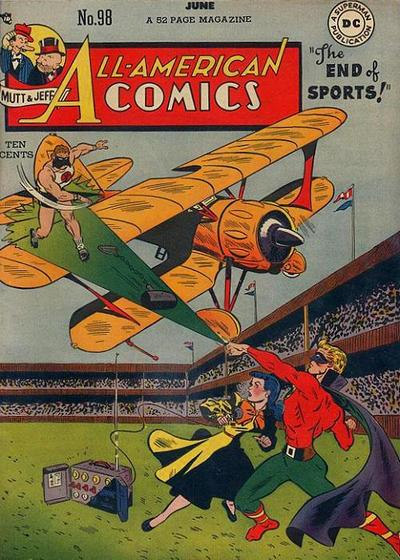Cover for All-American Comics (DC, 1939 series) #98