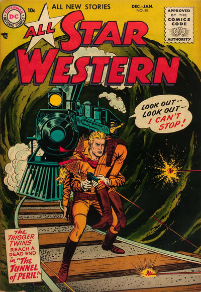 Cover for All-Star Western (1951 series) #86