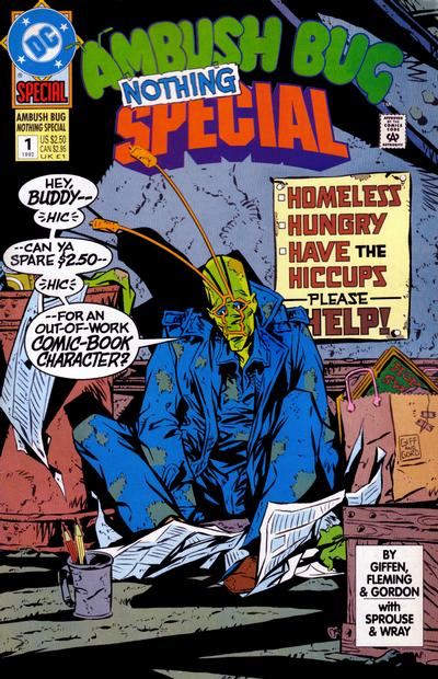 Cover for Ambush Bug Nothing Special (DC, 1992 series) #1