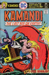 Cover for Kamandi, The Last Boy on Earth (DC, 1972 series) #38