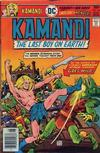 Cover for Kamandi, The Last Boy on Earth (DC, 1972 series) #44