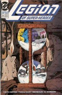 Cover Thumbnail for Legion of Super-Heroes (DC, 1989 series) #5