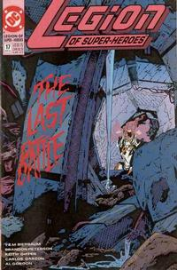 Cover Thumbnail for Legion of Super-Heroes (DC, 1989 series) #17