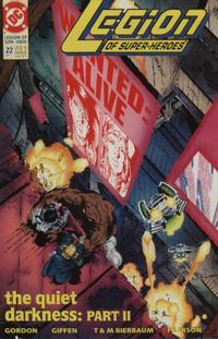 Cover Thumbnail for Legion of Super-Heroes (DC, 1989 series) #22