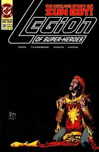 Cover Thumbnail for Legion of Super-Heroes (DC, 1989 series) #28