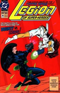 Cover Thumbnail for Legion of Super-Heroes (DC, 1989 series) #36