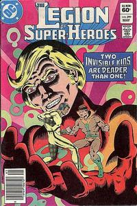 Cover Thumbnail for The Legion of Super-Heroes (DC, 1980 series) #299 [Newsstand]