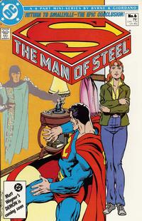 Cover Thumbnail for The Man of Steel (DC, 1986 series) #6