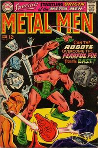 Cover Thumbnail for Metal Men (DC, 1963 series) #27