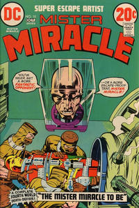 Cover Thumbnail for Mister Miracle (DC, 1971 series) #10
