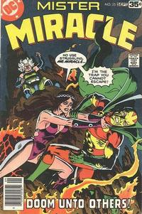 Cover Thumbnail for Mister Miracle (DC, 1971 series) #25