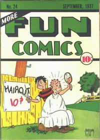 Cover for More Fun Comics (DC, 1936 series) #v2#12 (24)