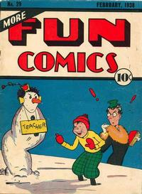 Cover Thumbnail for More Fun Comics (DC, 1936 series) #29