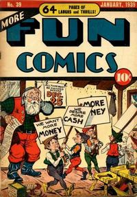 Cover Thumbnail for More Fun Comics (DC, 1936 series) #39