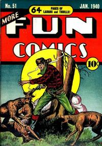 Cover Thumbnail for More Fun Comics (DC, 1936 series) #51