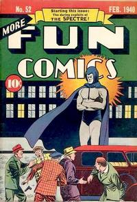 Cover Thumbnail for More Fun Comics (DC, 1936 series) #52