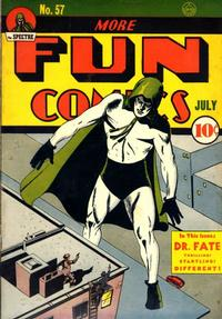 Cover Thumbnail for More Fun Comics (DC, 1936 series) #57