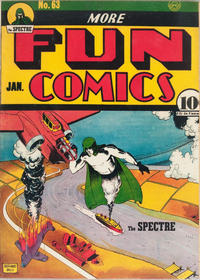Cover Thumbnail for More Fun Comics (DC, 1936 series) #63