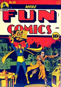 Cover Thumbnail for More Fun Comics (DC, 1936 series) #68