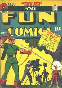 Cover Thumbnail for More Fun Comics (DC, 1936 series) #80