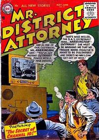 Cover Thumbnail for Mr. District Attorney (DC, 1948 series) #51