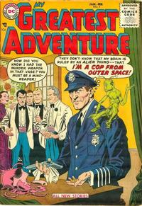 Cover Thumbnail for My Greatest Adventure (DC, 1955 series) #7