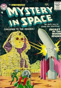 Cover Thumbnail for Mystery in Space (DC, 1951 series) #36