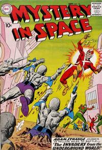 Cover Thumbnail for Mystery in Space (DC, 1951 series) #54