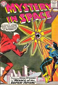 Cover Thumbnail for Mystery in Space (DC, 1951 series) #56
