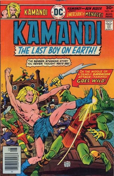 Cover for Kamandi, The Last Boy on Earth (1972 series) #44