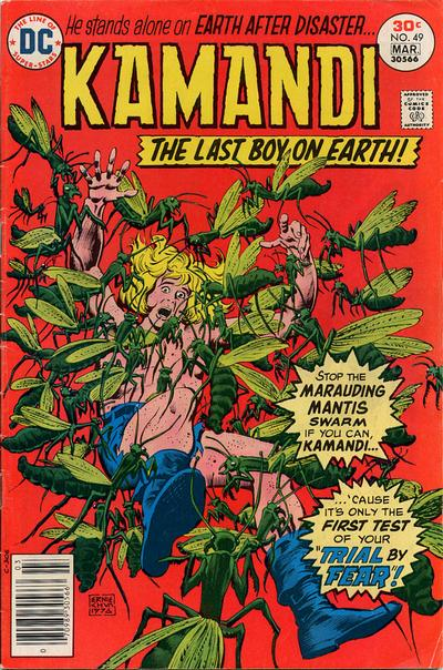 Cover for Kamandi, The Last Boy on Earth (DC, 1972 series) #49