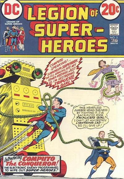 Cover for Legion of Super-Heroes (DC, 1973 series) #3