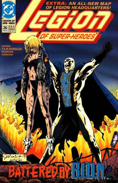 Cover for Legion of Super-Heroes (DC, 1989 series) #26