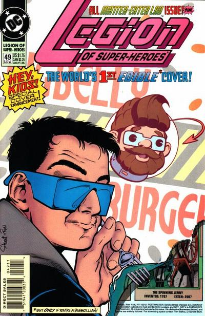 Cover for Legion of Super-Heroes (DC, 1989 series) #49