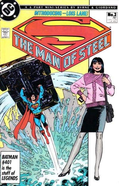 Cover for The Man of Steel (1986 series) #2