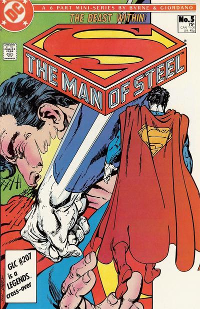 Cover for The Man of Steel (DC, 1986 series) #5