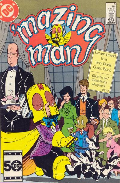 Cover for 'Mazing Man (DC, 1986 series) #3