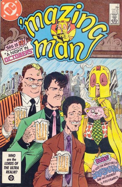 Cover for 'Mazing Man (DC, 1986 series) #7