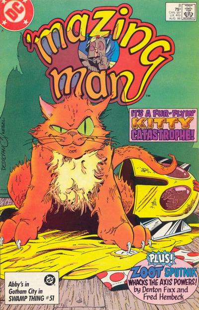 Cover for 'Mazing Man (DC, 1986 series) #8