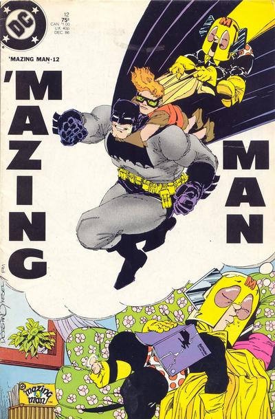 Cover for &#39;Mazing Man (1986 series) #12