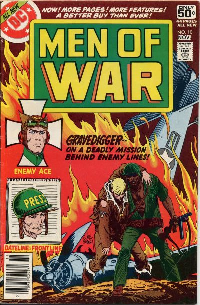 Cover for Men of War (1977 series) #10