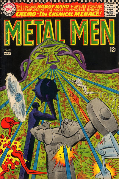 Cover for Metal Men (DC, 1963 series) #25