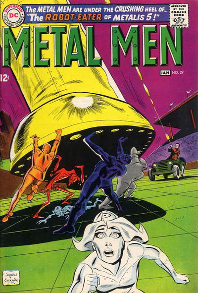 Cover for Metal Men (1963 series) #29